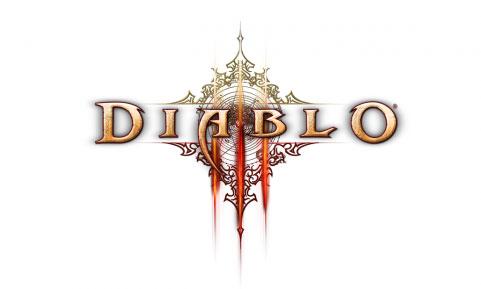 diablo 3 logo blanco