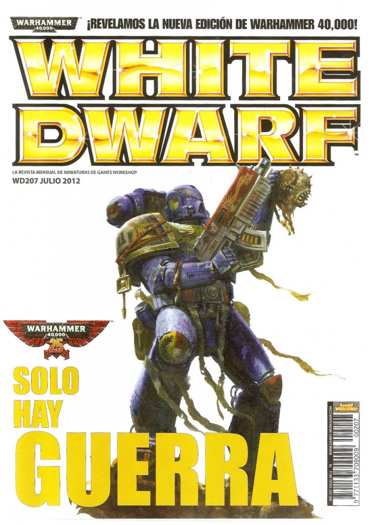 portada revista white dwarf julio 2012