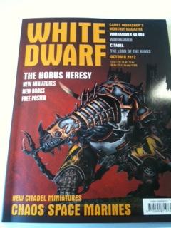 White Dwarf Octubre
