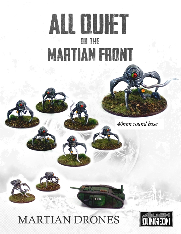 All Quiet On The Martian Front - Martian drones