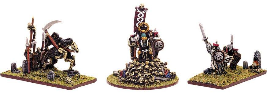 Personajes Reyes Funerarios Warmaster