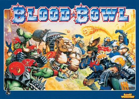 La querida caja del juego de Blood Bowl que muchos tenemos
