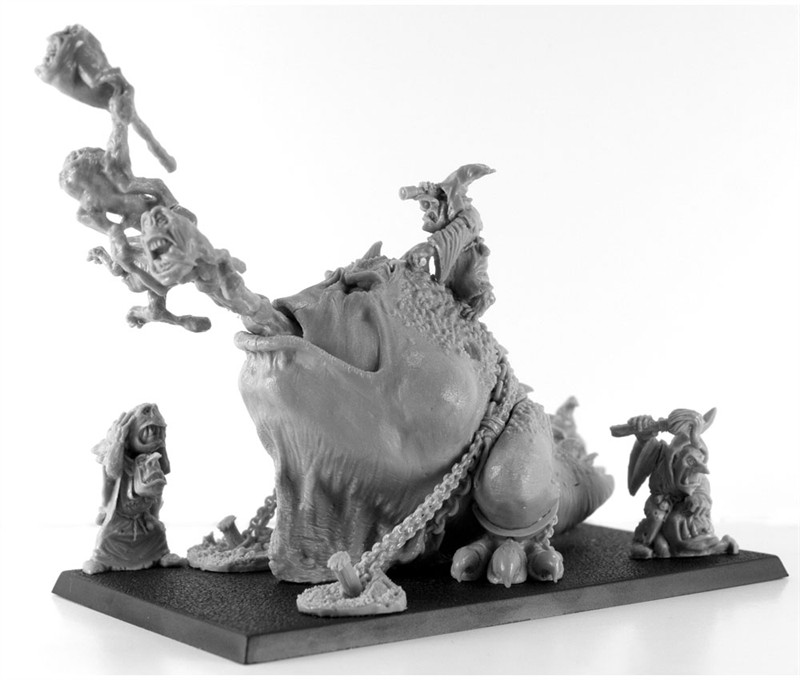 ForgeWorld Orcs Goblins Squig Gobba