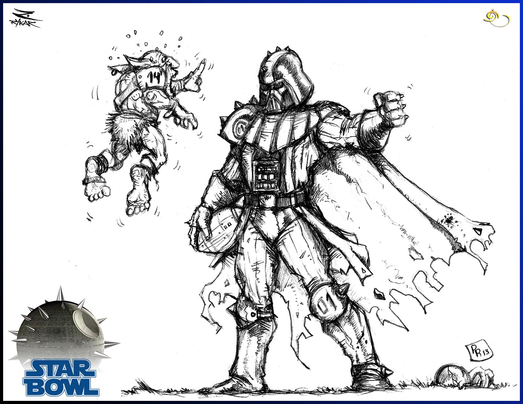 Star Bowl Darth Vader