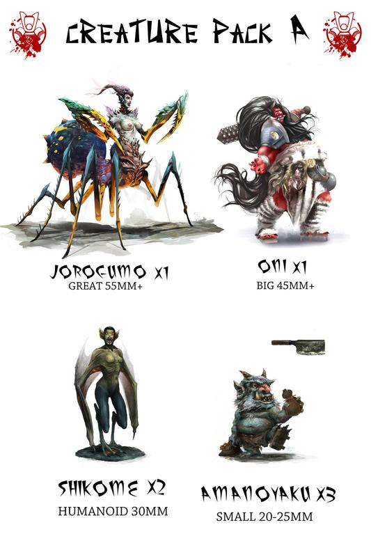 Creature Pack A