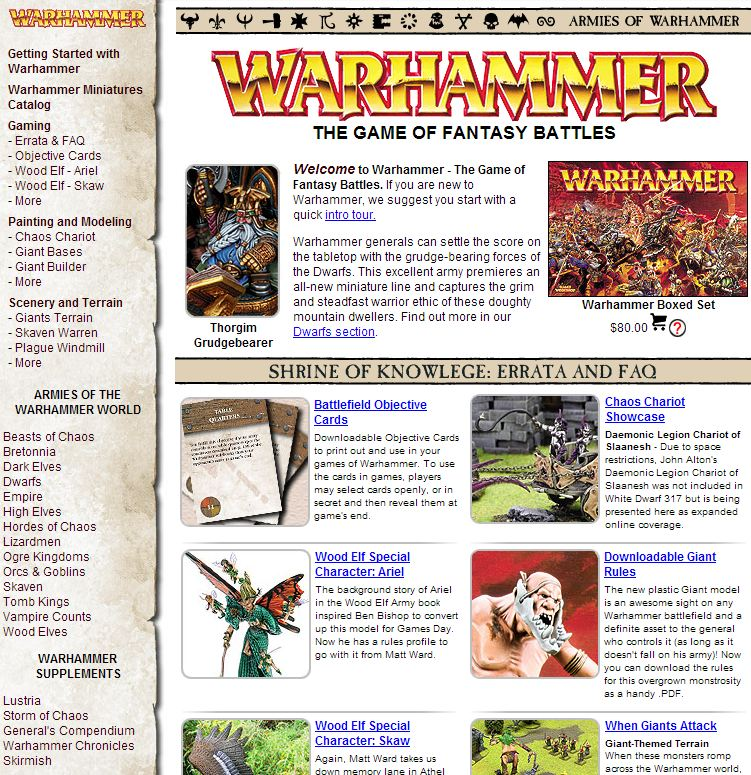 Captura Web Games Workshop 2006