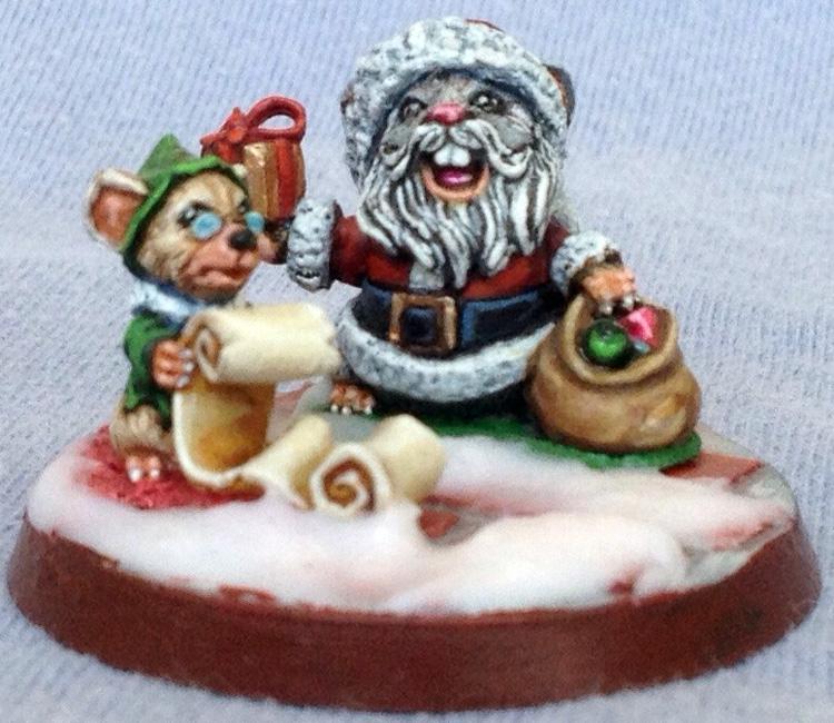 03543 Santa Mousling