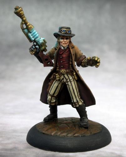 50281 Dr Charles Bennet, steampunk hero