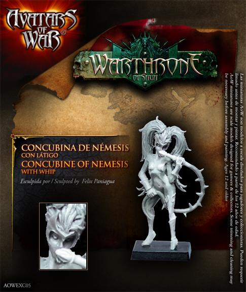 Warthrone concubina exclusiva