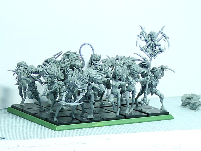 warthrone regimiento vestales