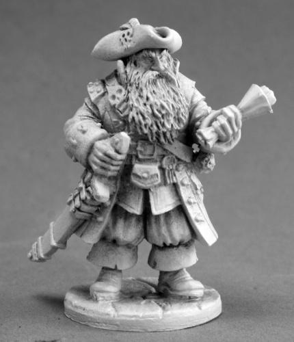 03646 Barnabus Frost, pirate captain (e Bobby Jackson)