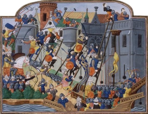 Asedio a Constantinopla