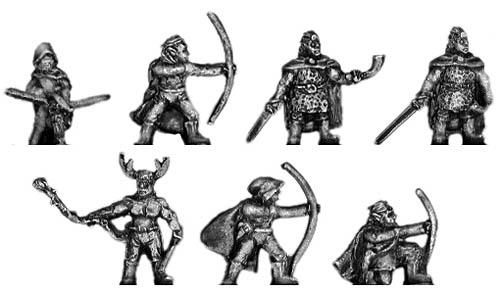 Eureka woodland elf archers