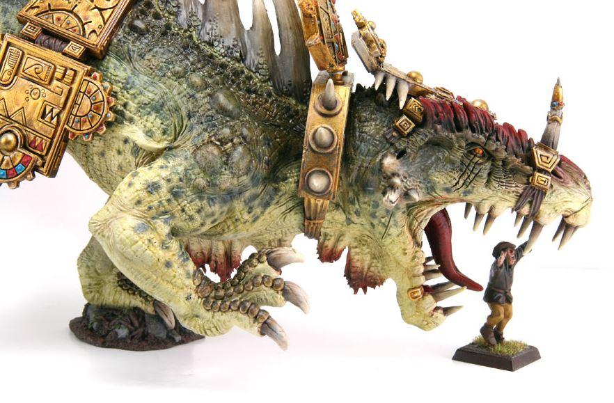 WH Terrosaurio escala