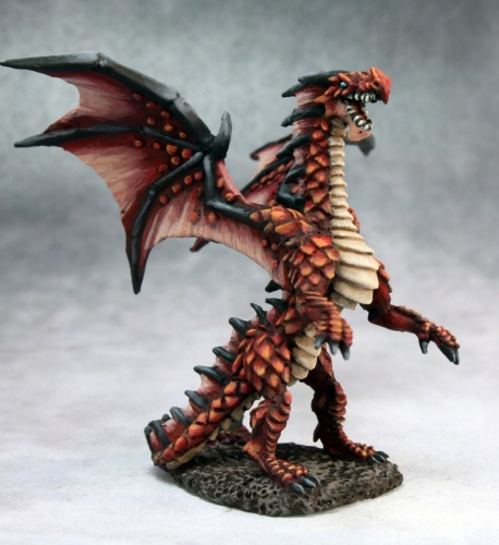 03664 Fire dragon hatchling (e Kevin Williams, p Martin Jones)