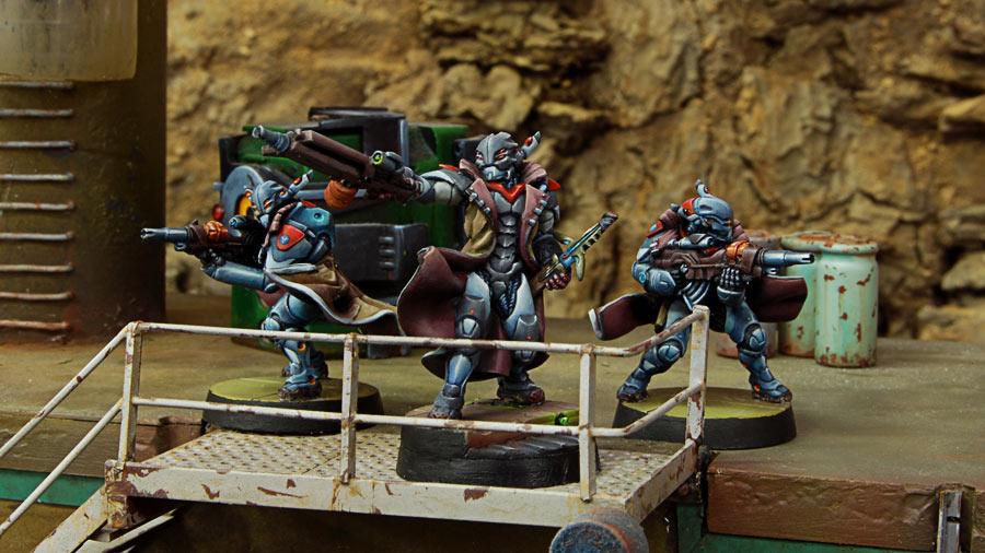 Guardia Aquila HMG. Nada escapa a su vista ni a sus balas gracias a VMN3 y CD15.