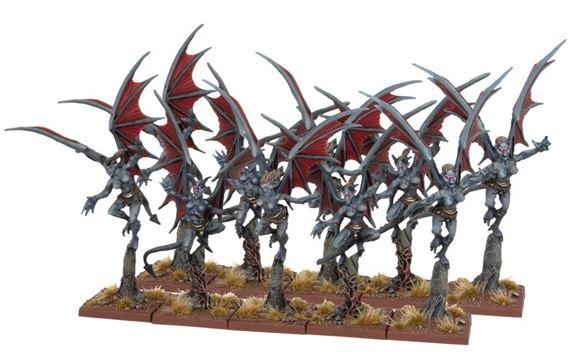 Mantic Abyssal Dwarf Gargoyles