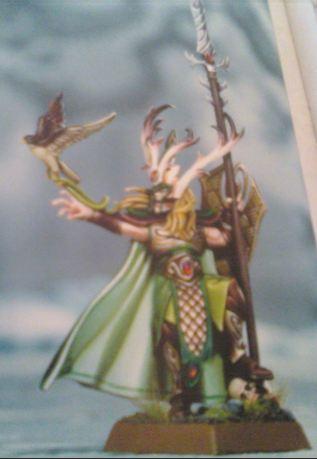 Nuevo elfo silvano
