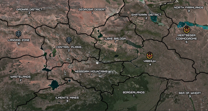 Mapa de campaña Karnak