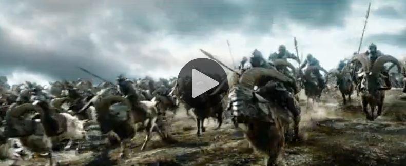 El Hobbit Jinetes de Cabra