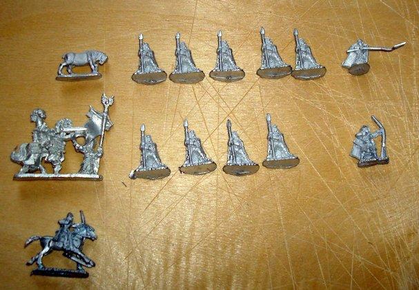 Pendraken FE2 Wood elves with spear
