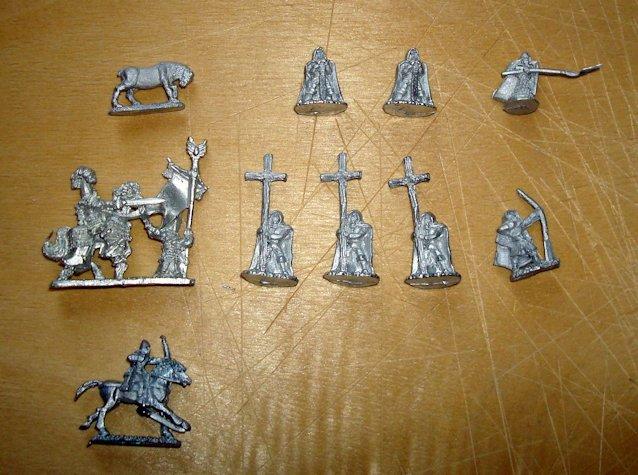 Pendraken FE4 Wood elves command
