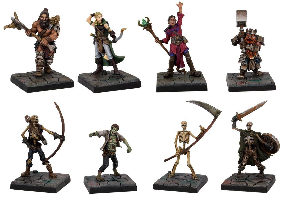 Dwarf King Quest Miniaturas