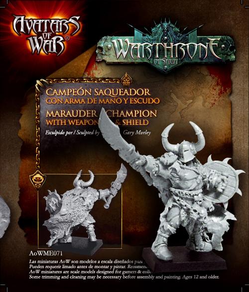 aowpl12 Saqueadores del Apocalipsis miniatura promocional