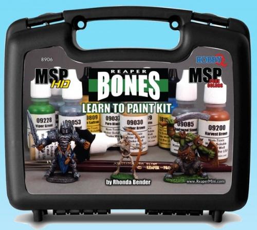 08906 Learn to paint Bones kit