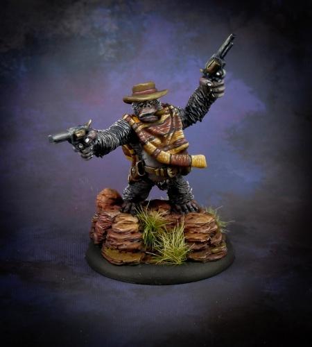 50318 Cactus Joe, gorilla gunslinger (e Jason Wiebe, p Michael Proctor)