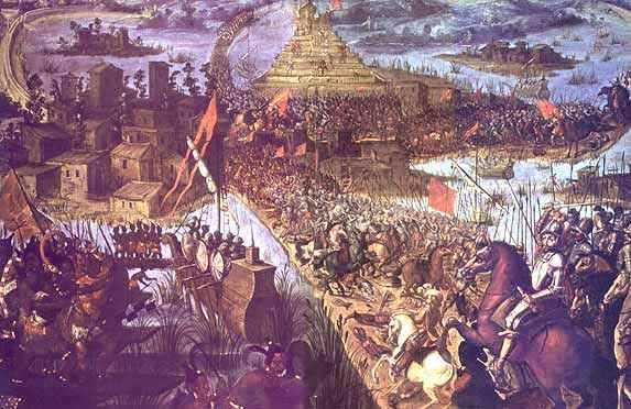 Asedio de Tenochtitlan