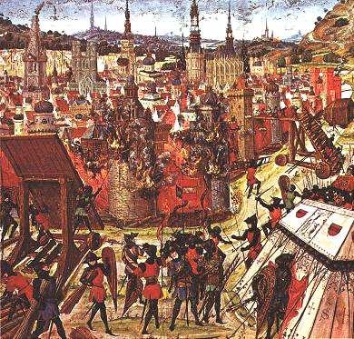 Primera Cruzada Toma de Jerusalen 1099