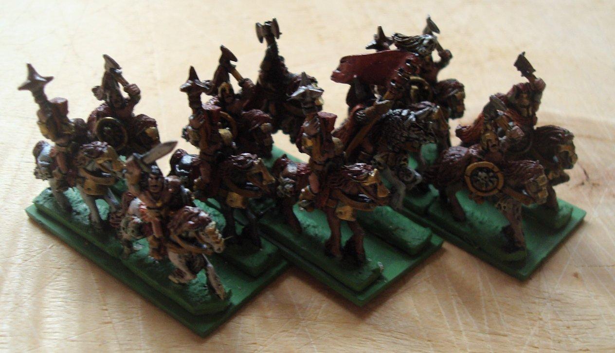 Warmaster Barbaros a caballo de Khorne 2014-09