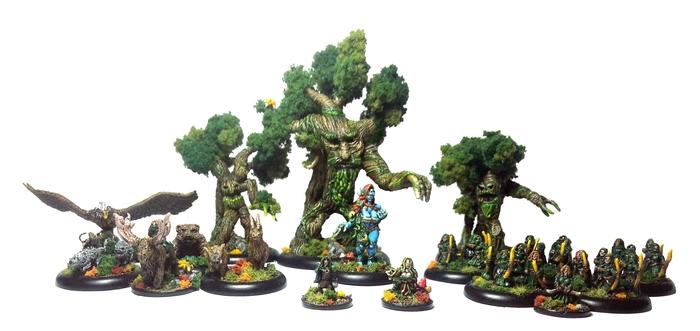 Bestial Wars elfos