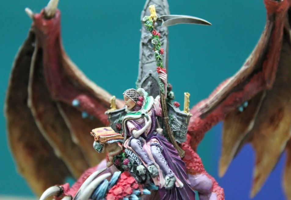Elspeth von Draken pintada