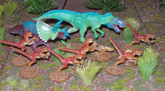 Adventures Lost Land dinos