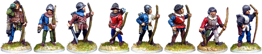 Wargames Foundry MED121 Archers Standing
