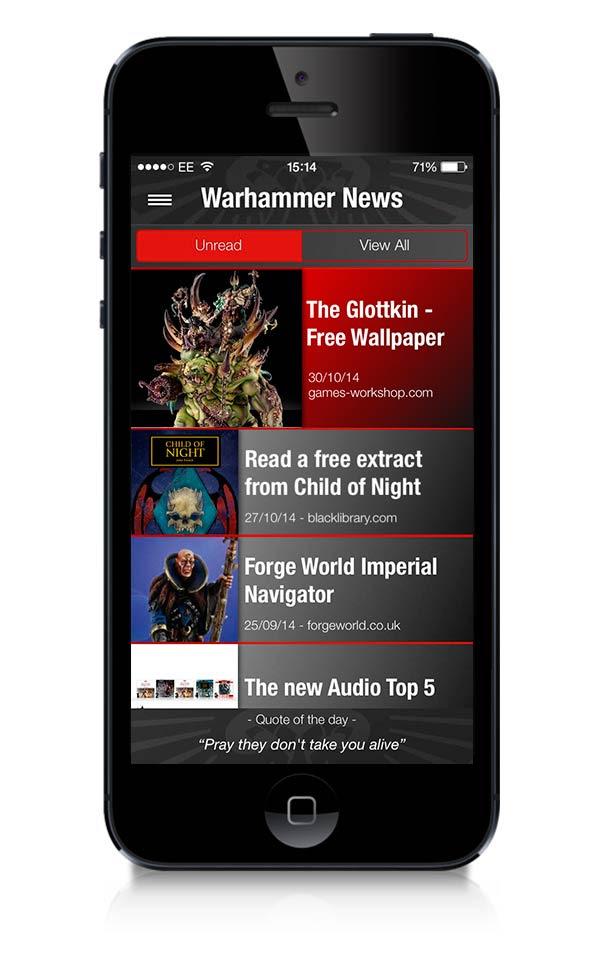 Warhammer The App