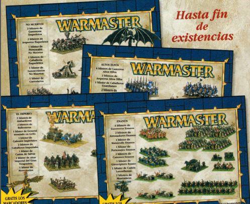 Warmaster cajas ejercito ES