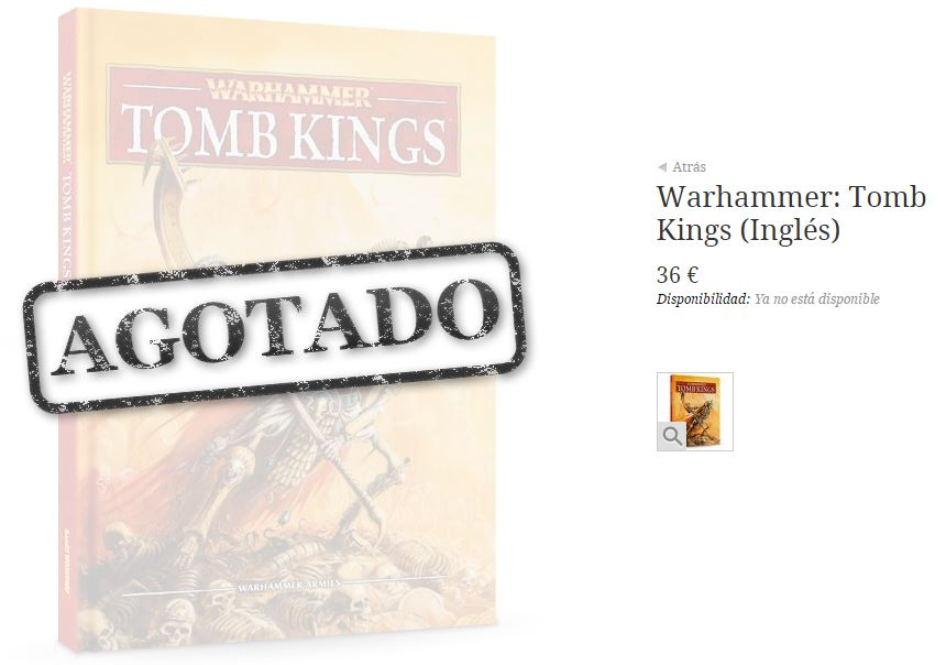 warhammer adios reyes funerarios
