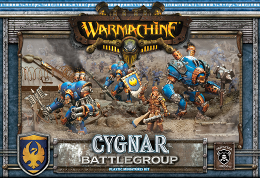 Cygnar Battlegroup MK2