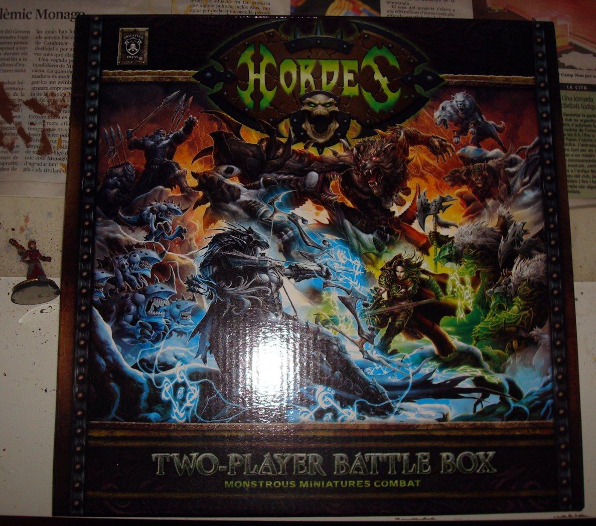 Unboxing Hordes 01 caja