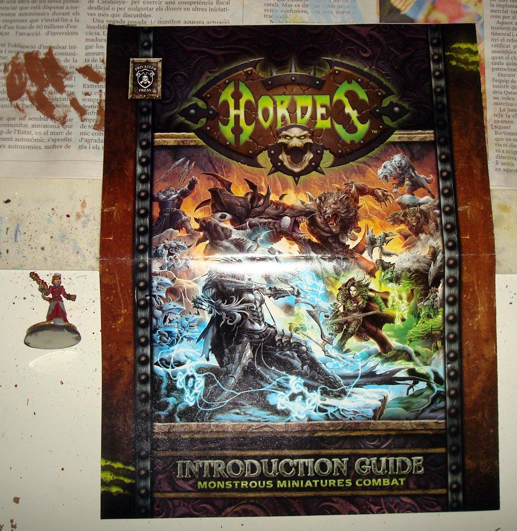 Unboxing Hordes 04 Guia introduccion