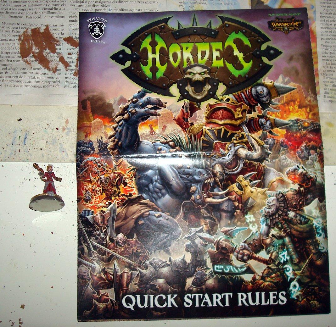 Unboxing Hordes 05 Reglas rapidas