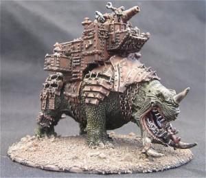 Un tremendo Orkosaurio