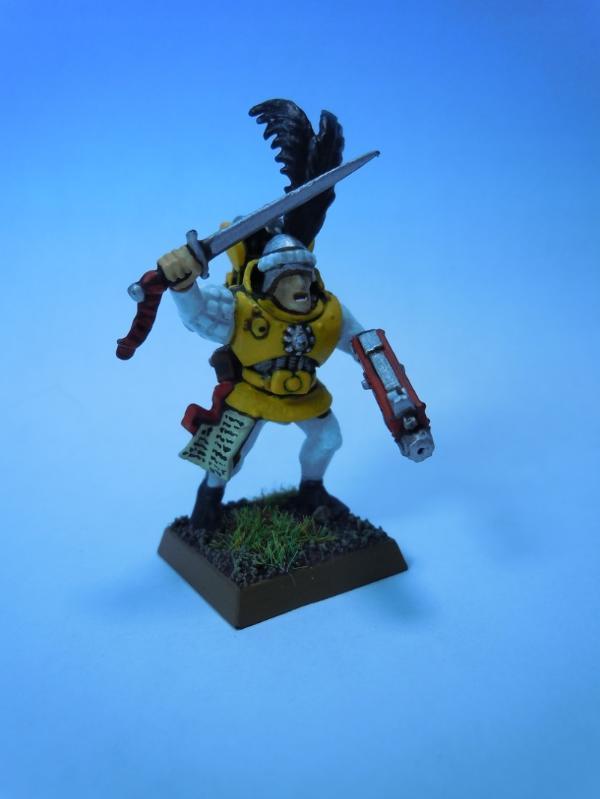 soldado imperial warhammer estilo 40k
