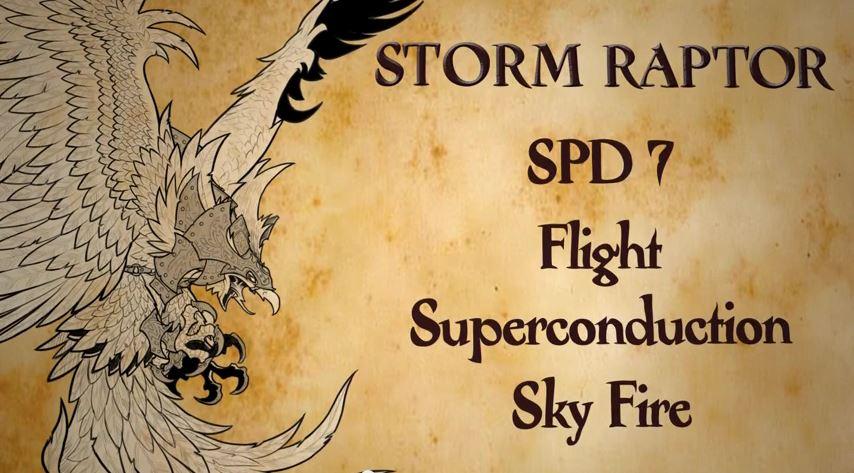 Hordes Stormraptor