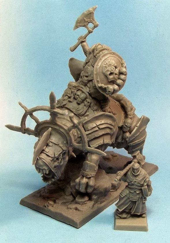 Mom Miniaturas bestia del caos y sacerdote