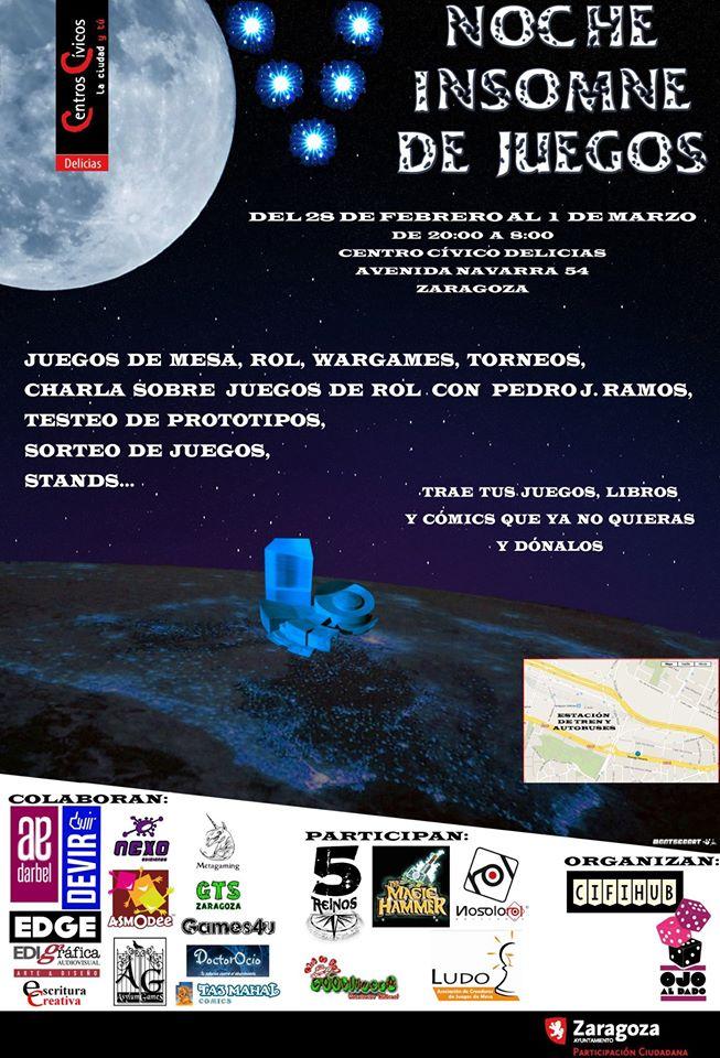 cartel noche