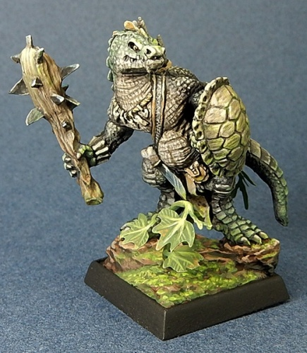 03705 Lizardman with club & shield (e GVH, p Derek Schubert)